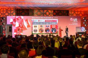 В Москве прошла презентация новой электроники LG»